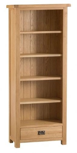 Chelmsford Oak Medium Bookcase